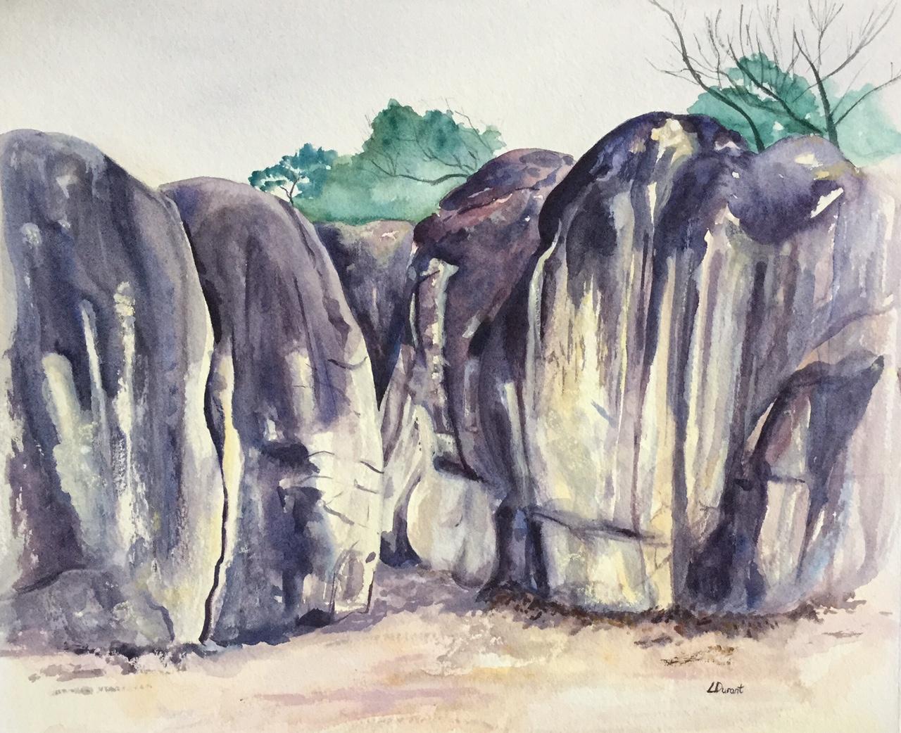 Bas Cuvier boulders